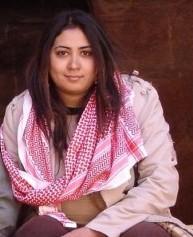 كاتبة مغربية سمراء تربك مفتي الاردن