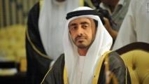 الشيخ عبدالله بن زايد وزير خارجية الامارات