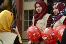 الموصل يحتفلون بعيد الحب