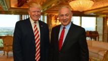 لقاء ترامب ونتنياهو