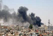 معارك عنيفة في دمشق اثر هجوم مباغت للفصائل المقاتلة