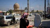 تجارة الصحون اللاقطة تزدهر في الموصل بعد طرد الجهاديين