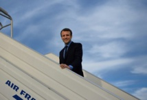 """""""ماكرون"""" يتقدم على """"لوبان"""" قبل أيام من انتخابات الرئاسة الفرنسية"""