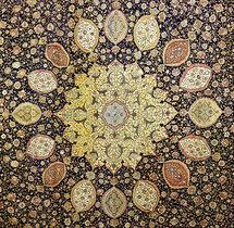 بيع سجادة مهراجا هندي صنعت لقبر الرسول