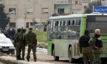 بدء ترحيل آخر دفعات مقاتلي المعارضة السورية من حي الوعر
