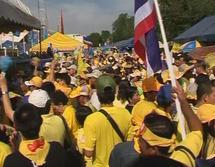 احتجاج في تايلاند على إغلاق محطة تليفزيونية فضائية