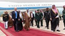 ترامب يصل السعودية للقاء  55 زعيما عربيا واسلاميا