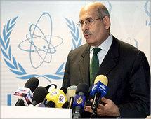 المدير العام للوكالة الدكتور محمد البرادعي