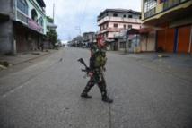 شعور بالحزن والألم إزاء تدمير المدينة الإسلامية الوحيدة في الفلبين