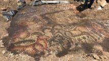 تركيا.. العثور على لوحة فسيفساء عمرها 1600 عام
