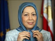 مريم رجوي زعيمة مجاهدي خلق