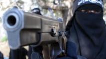 """اعتقال 20 """"داعشية"""" أجنبية بينهن 5 ألمانيات داخل انفاق الموصل"""