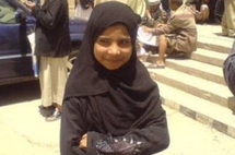 زواج الاطفال ...الطفلة اليمنية نجود محمد علي تم تزويجها وهي في الثامنة من عمرها