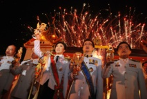 تايلاند تحتفل بعيد ميلاد ملكها الجديد بطقوس بوذية