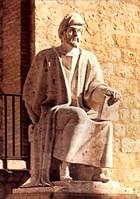 تمثال ابن رشد خارج اسوار قرطبة القديمة