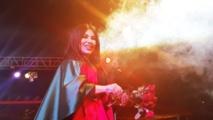 مغنية البوب الأفغانية أريانا سيد تحيي حفلا في كابول