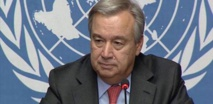جوتيرش يدعو لحلول سياسية للأزمة الإنسانية في غزة
