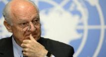 معارضون سوريون يطالبون بإعفاء دي ميستورا من منصبه