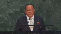 وزير خارجية كوريا الشمالية : يهدد واشنطن من منصة الامم المتحدة