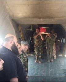 الرواية السورية:مقتل عصام زهر الدين بانفجار لغم  في دير الزور