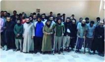 اسرى داعش في الرقة