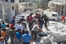 غارات جوية سورية-روسية قتلت مدنيين مُحاصرين