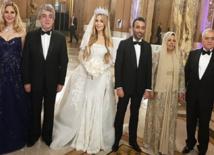 حفل زفاف أسطوري لحفيدة عبدالحليم خدام ورجل اعمال لبناني في باريس