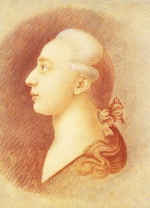 رسم للمغامر الإيطالي الأسطوري جياكامو كازانوفا