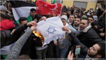 وزيرا الداخلية والدفاع الألمانيان يدينان حرق أعلام إسرائيلية ببرلين