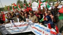 تظاهرات وتعطيل مدارس وحظر تجوال في مدن بكردستان العراق