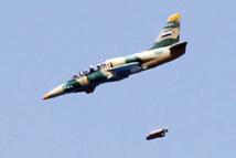 أكثر من 68 ألف برميلاً متفجراً ألقتها مروحيات الأسدعلى المدنيين