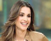 الملكة رانيا قرينة عاهل الأردن عبد الله الثاني