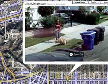 تستخدم جوجل سيارات خاصة تحمل كاميرات تستطيع تصوير الشوارع من جميع الزوايا في وقت واحد