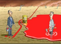 دراسة أمريكية : إزاحة الأسد هي الحل الوحيد لإنقاذ سورية
