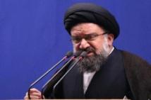 رجل دين إيراني متشدد يطالب بعدم إبداء الرحمة مع المتظاهرين
