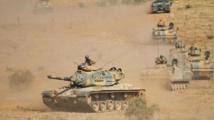 تعزيزات عسكرية تركية تدخل سورية من معبر اعزاز