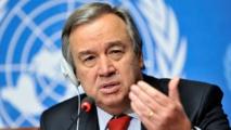 الأمين العام للأمم المتحدة يدعو إلى وقف فوري للعنف في سورية