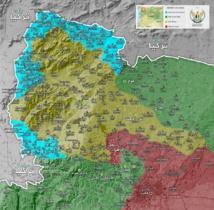 الجيش السوري الحر يسيطر على الشريط الحدودي مع تركيا في منطقة عفرين