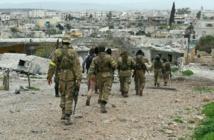 قوات سورية مدعومة تركياً تستولى على بلدة جنديرس الكردية