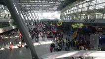 أحداث شغب بين متظاهرين أتراك وأكراد في مطار دوسلدورف