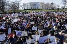 مسيرات طلابية عارمة للمطالبة بتغيير قانون السلاح الأمريكي