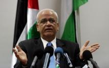 عريقات:واشنطن أحبطت مرتين إصدار مجلس الأمن بيانا عن غزة