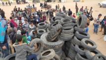 مقتل 6وإصابة ألف فلسطيني في مواجهات على حدود قطاع غزة