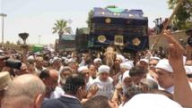المصريون  يحتفلون اليوم بموكب سيدي أبى الحجاج بشوارع الأقصر