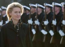 وزيرة الدفاع الالمانية