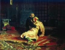 إتلاف لوحة إيفان الرهيب الشهيرة في متحف بموسكو