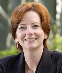 رئيسة وزراء أستراليا جوليا جيلارد