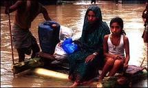 الامم المتحدة تؤكد اول اصابة بالكوليرا في منطقة الفيضانات في باكستان