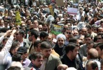 انطلاق  مسيرات يوم القدس العالمي في  طهران وبغداد