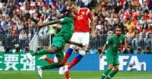 السعودية تخسر أمام روسيا بخماسية في مستهل مبارياتها بكأس العالم